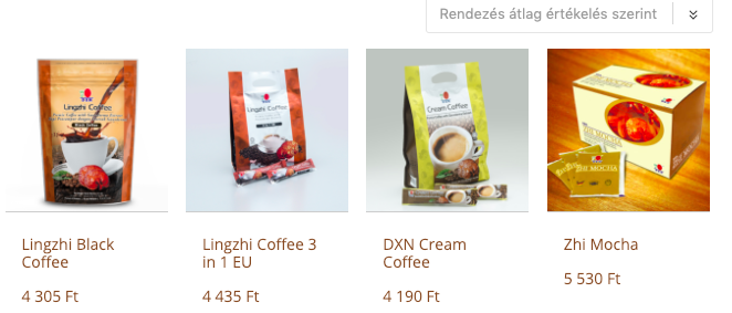 dxn kávék